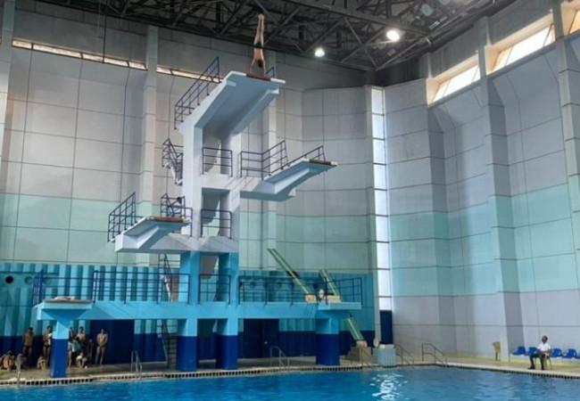اتحاد السباحة يقيم بطولة القفز إلى الماء
