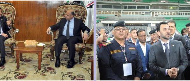 عبطان يشكّل لجنة لادارة المدينة الرياضية ويعلن ان المباراة الودية ستكون مع المنتخب السوري الشقيق