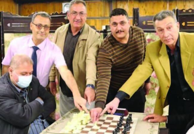 اختتام بطولة شطرنجية في بابل