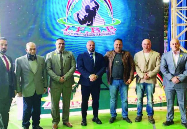 اختتام بطولة صالات العراق ببناء الأجسام