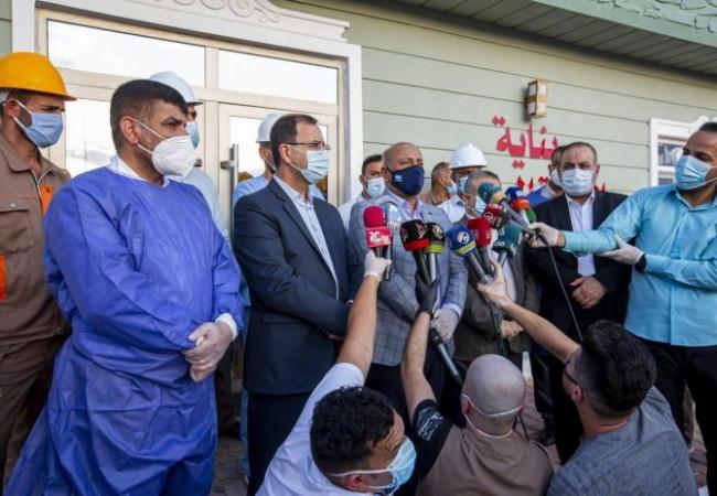 افتتاح ردهة لعلاج مصابي كورونا بسعة ٤٩ سريرا في كربلاء المقدسة