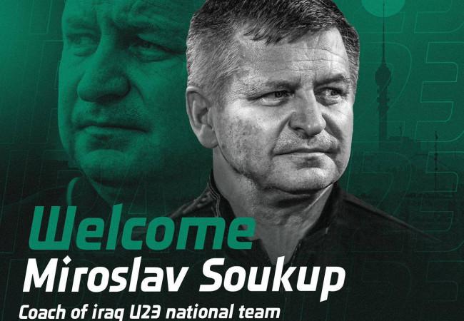 التشيكي ميروسلاف سوكوب مدرباً لمنتخبنا الاولمبي