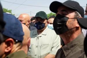 السيد عادل عبد المهدي يشارك في تشييع شهداء الحشد الشعبي 2
