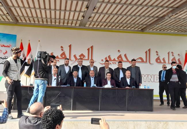 فوز خالد جاسم بمنصب رئيس الاتحاد العراقي للصحافة الرياضية