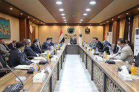 وزير الصناعة والمعادن يترأس الاجتماع الاول لمجلس إدارة هيأة المدن الصناعية