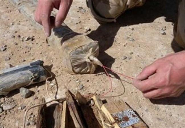 العثور على 21 عبوة ناسفة وعدد من الاسلحة ضمن ابطال العراق