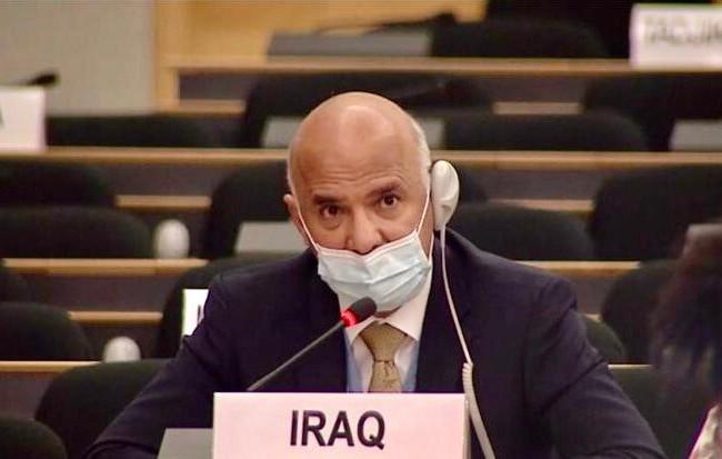 العراق يشارك في الحوار الطارئ حول التمييز العنصري في مقر الامم المتحدة في جنيف