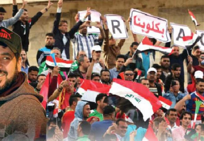 الفنان محمد هاشم: حملة خاصة لدعم تأهيل المنتخب إلى المونديال