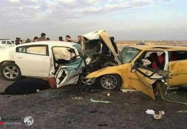 بالأرقام.. حوادث السير وضحاياها في العراق خلال 2020