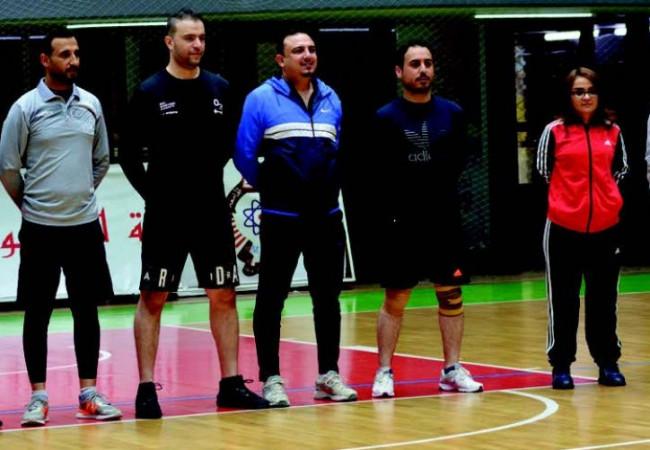 ثلاثة مقاعد دولية لحكام السلة