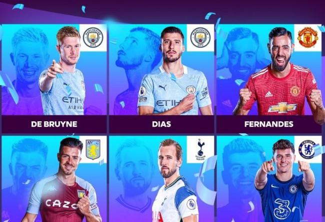 ثمانية نجوم يتنافسون على جائزة أفضل لاعب في الدوري الإنجليزي