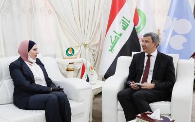 النفط : حملة تعفير وتعقيم شاملة للعاصمة بغداد بالتعاون مع أمانة العاصمة