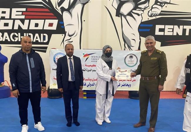 ختام الدورة التحكيمية الأساسية لحكام التايكوندو الجدد لمنطقة بغداد