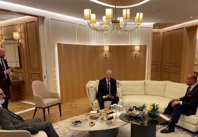 درجال يدعو رئيس فيفا لزيارة العراق