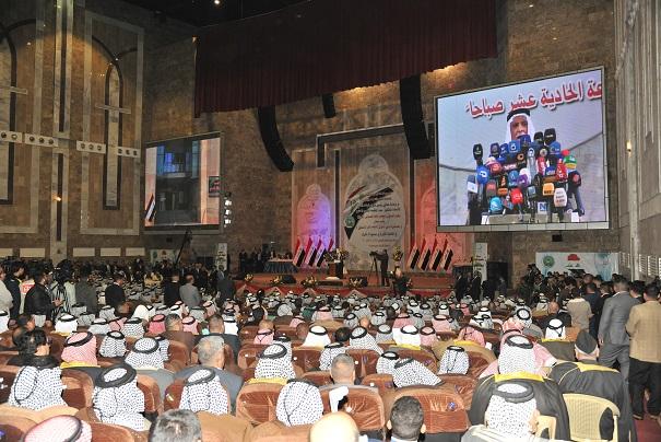 الهميم: مطمئنون على وحدة العراق وحان وقت صناعة النسيج المجتمعي