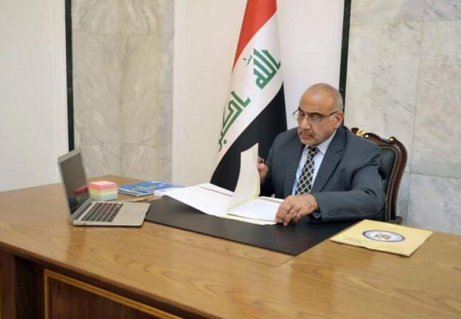 عبد المهدي يهنئ إبراهيم رئيسي بمناسبة انتخابه رئيسا للجمهورية الاسلامية الايرانية