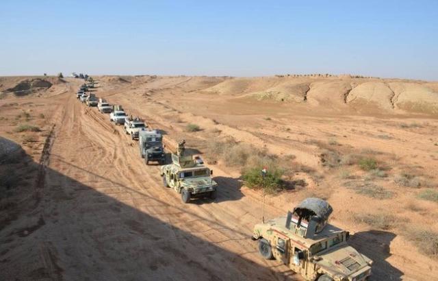 عملية أمنية في صحراء الانبار لملاحقة فلول داعش