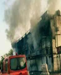 حريق في مستشفى أطفال العلوية ببغداد لإهمال موظفة