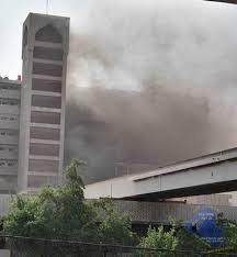 """انفجار """"انوب غاز"""" بمجمع الصالحية وسط بغداد"""