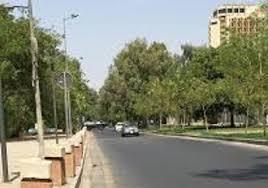الاستعداد لافتتاح شارع أبو نؤاس قرب الجسر المعلق