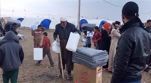 مخيم جديد للنازحين شرق الموصل