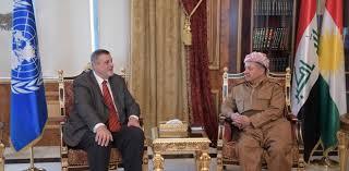 بارزاني وكوبيتش يبحثان مراحل معركة تحرير الموصل