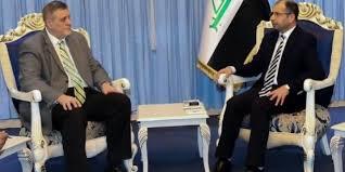 رئيس البرلمان يدعو الى استمرار الدعم الدولي إغاثياً وعسكرياً للعراق