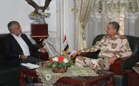 الغانمي والعامري يبحثان الخطط والآليات العسكرية لحسم المعركة مع الإرهاب