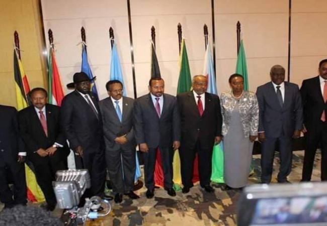 لبحث الملف الإثيوبي والخلاف الكيني الصومالي.. قمة لقادة إيغاد في جيبوتي