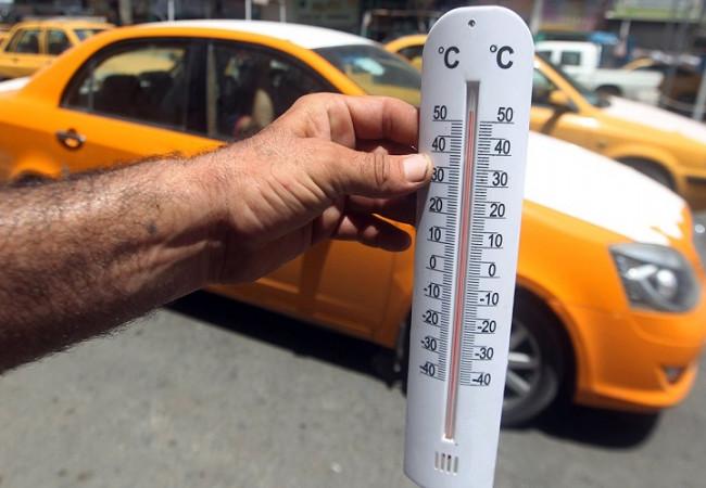 متنبئ جوي: ارتفاع الحرارة لنصف درجة الغليان في وسط وجنوب العراق الثلاثاء
