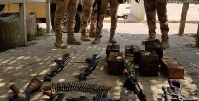 الغانمي: مستمرون بملاحقة الخارجين عن القانون ومصادرة الاسلحة في البصرة