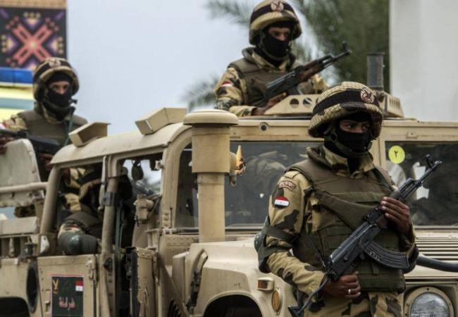 مقتل وإصابة 7 عسكريين و73 مسلحا بمصر