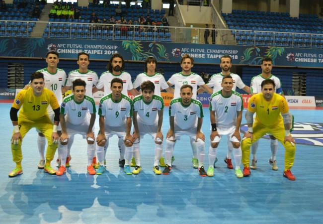 منتخبنا الوطني بكرة الصالات يشارك في بطولة إيران الدولية الودية
