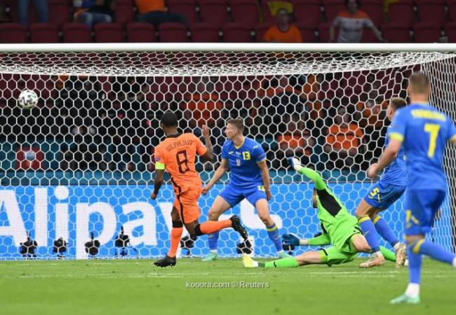 هولندا تحبط ريمونتادا أوكرانيا بفوز قاتل