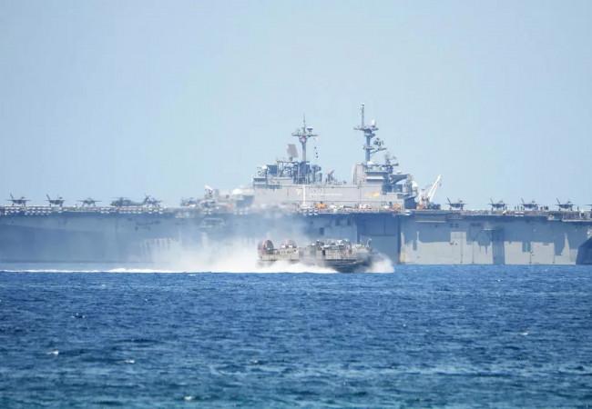 """الجيش الأميركي يتوعّد بنهج """"أكثر حزما"""" لمواجهة الصين في الهادئ"""