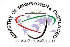 الهجرة: توزيع اكثر من 9 الاف حصة اغاثية للنازحين شرق الموصل