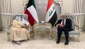 وزير الخارجية الكويتي في بغداد لبحث القضايا ذات الاهتمام المشترك