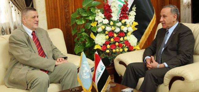 العبيدي وكوبيتش يشددان على ضرورة تفعيل الالتزامات الدولية لدعم العراق