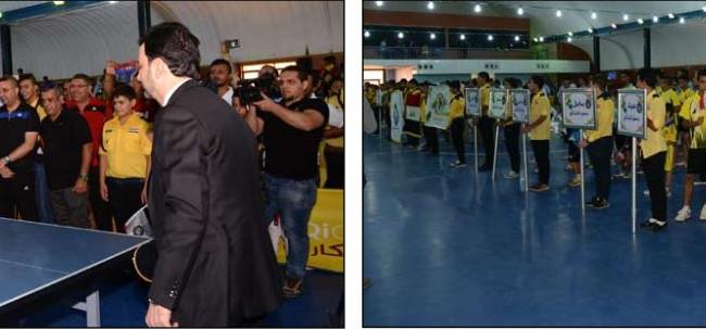 وزارة الشباب والرياضة تنظم كرنفالا رياضيا يجمع العراق في بطولة كرة الطاولة