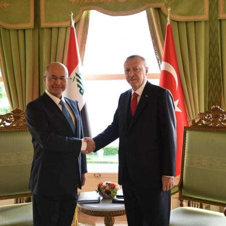 صالح يؤكد لأردوغان :ضمان الأمن المشترك يأتي من خلال التنسيق بين البلدين وبلدان المنطقة