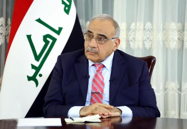 السيد عادل عبدالمهدي يرفض بشدة ويدين ما نشرته صحيفة الشرق الاوسط من رسم مسيء الى المرجعية الدينية والشعب العراقي