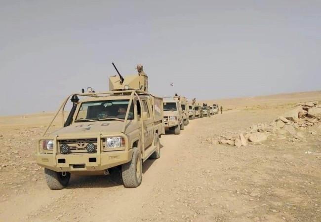 """القوات الامنية تعتمد تكتيكا جديدا بملاحقة """"داعش"""" في صحراء الانبار"""