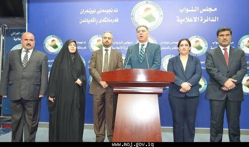 حقوق الانسان النيابية تدعو وزارة الهجرة الى اعداد خطة لايواء نازحي الموصل