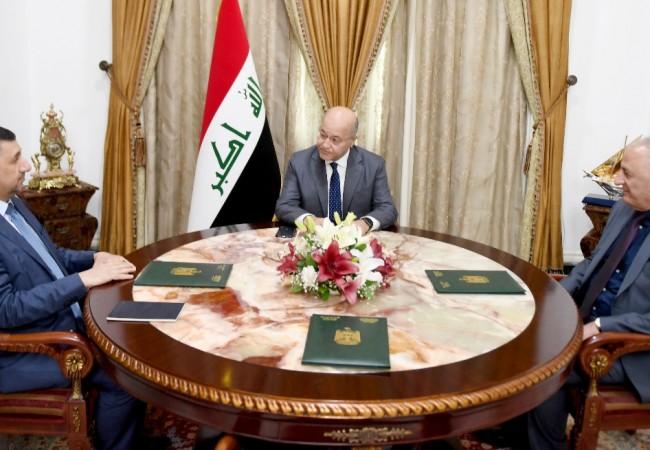 رئيس الجمهورية : إعادة بناء الموصل يحتاج للتكاتف وتجاوز الخلافات