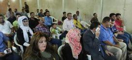 منتدى ألوان الثقافي في البصرة يقيم مهرجانه السنوي لدعم الحشد الشعبي