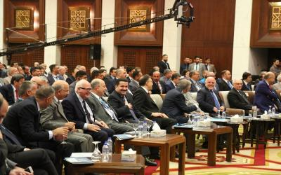 السوداني : نعول على المنتدى بالمساعدة في رسم رؤية ستراتيجية للطاقة في العراق ونأمل التوصل الى توصيات تخدم الصناعة الوطنية وتشجع الاستثمار