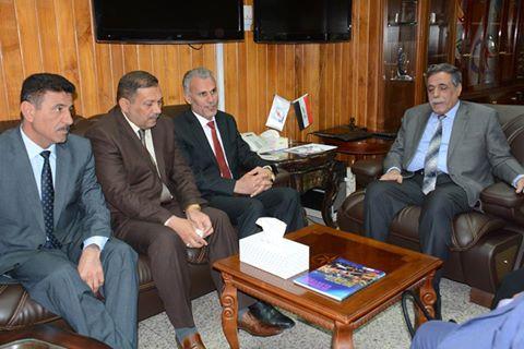 محافظ واسط يبحث مع وزير الكهرباء تحسين واقع قطاع الكهرباء في المحافظة