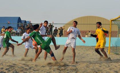 مواعيد جديدة لرجال الشاطئية في التصفيات الثانية لاندية بغداد