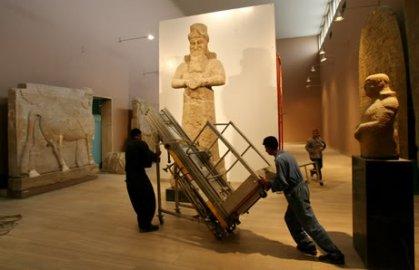 بلاد الرافدين تخلو من المتاحف والآثار