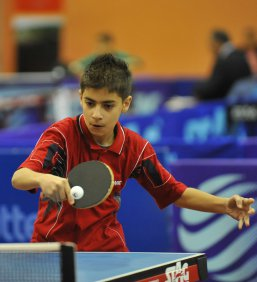 منتخب الناشئين يحضّر لبطولة العرب بكرة الطاولة
